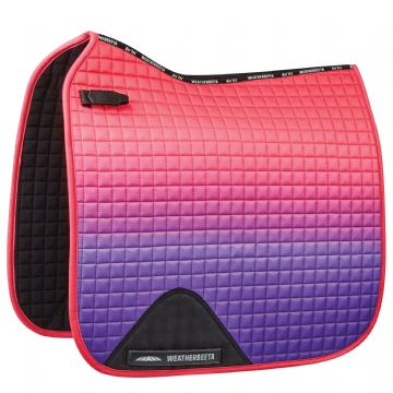 WEATHERBEETA PRIME OMBRE  DRESSAGE SHAPED SADDLE PAD (1)
